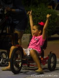 Mazatlan Bike Girl